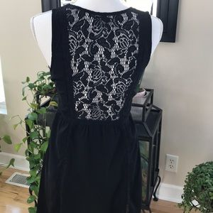 American Eagle lace inlay lined spring dress.  EUC
